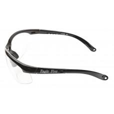 Eagle Beschermbril of Veiligheidsbril met leeszone  (leesgedeelte op sterkte) ZWART frame! o.a. voor contactberoepen