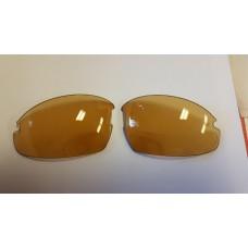 Nieuw: mee kleurende glazen voor de Eagle FIVE bifocale bril - van Oranje naar Bruin (leesgedeelte op sterkte)