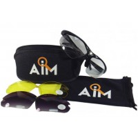De laatste doos: Sportieve en Stijlvolle bifocale Eagle Two Sport bril met 3 verschillende sets glazen!