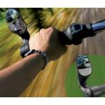 Achteruitkijk spiegel voor MTB en stadsfiets - veiligheidsverhogend en eenvoudig te installeren op het stuur